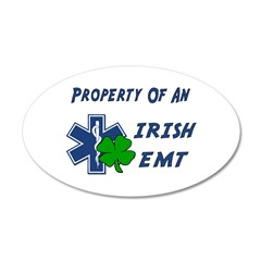 Irish EMT Property 38.5 x 24.5 Oval Wall Peel