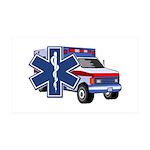 EMS Ambulance 35x21 Wall Decal