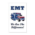 EMT We Are The Difference 20x12 Wall Decal