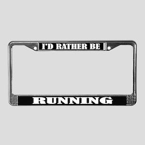 Running or Runner License Frame