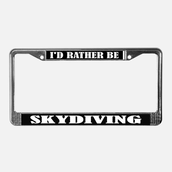Skydiving License Frame