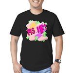 As if! Men's Fitted T-Shirt (dark)