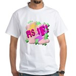 As if! White T-Shirt