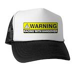 """""""Racing w/ Hangover"""" Trucker Hat"""