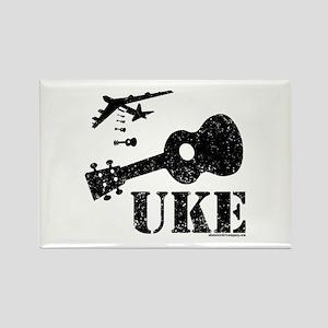 UKE Bomber Rectangle Magnet