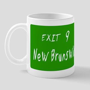 Exit 9, New Brunswick, NJ Mug