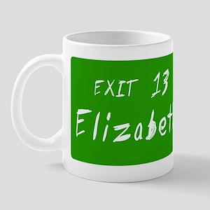 Exit 13, Elizabeth, NJ Mug