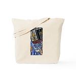 Cat5 Fleur Gate Tote Bag