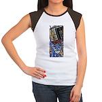 Cat5 Fleur Gate Women's Cap Sleeve T-Shirt