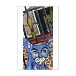 Cat5 Fleur Gate Mini Poster Print