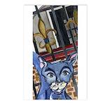 Cat5 Fleur Gate Postcards (Package of 8)