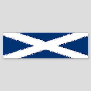 Scottish Flag Sticker (Bumper)