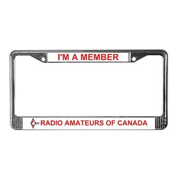 RAC License Plate Frame