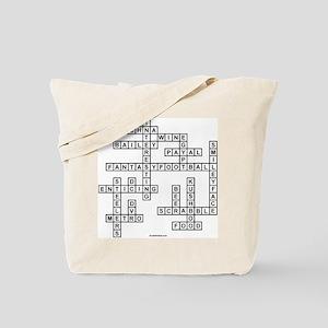 PATEL SCRABBLE-STYLE Tote Bag