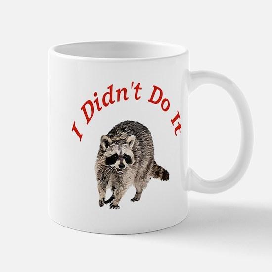 Raccoon Humorous Mug