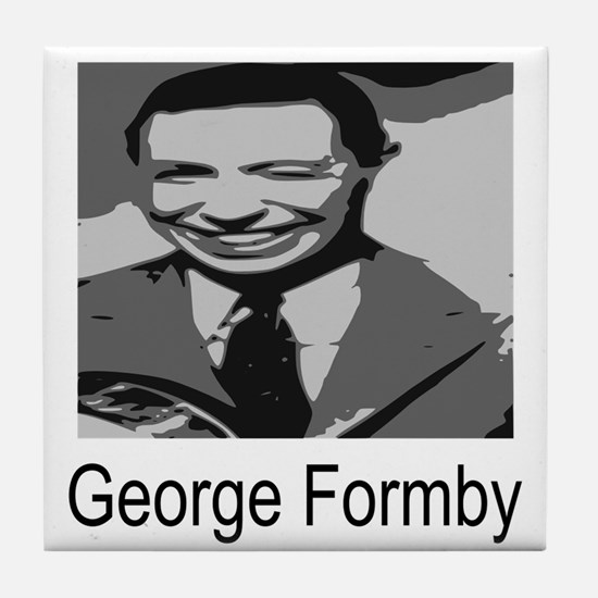 George Formby Tile Coaster