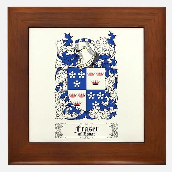 Fraser of Lovat Framed Tile