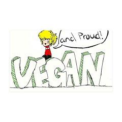 Vegan Beast 38.5 x 24.5 Wall Peel