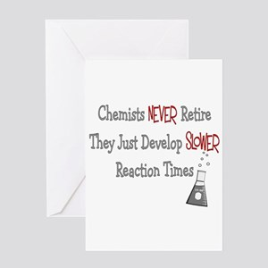 5072a622c6e Chemistry Teacher Greeting Cards - CafePress