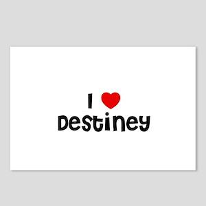 I * Destiney Postcards (Package of 8)