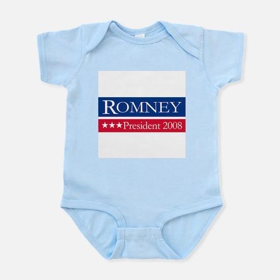 MITT ROMNEY PRESIDENT 2008 Infant Creeper