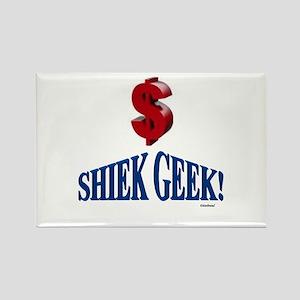 Shiek Geek Rectangle Magnet