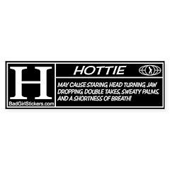 Hottie Rating Bumper Bumper Sticker