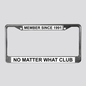 No Matter What - 1991 License Plate Frame