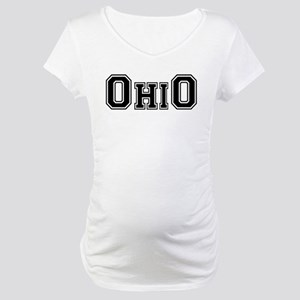 OhiO Boobies Maternity T-Shirt