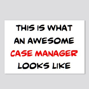 awesome case.manager Postcards (Package of 8)