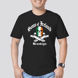 Sons of Ireland Brooklyn - Men's Fitted T-Shirt (d