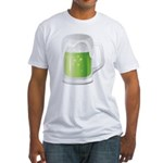 St Particks Day Beer Fitted T-Shirt