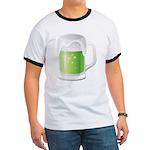 St Particks Day Beer Ringer T