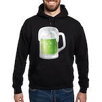 St Particks Day Beer Hoodie (dark)