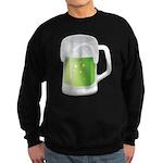 St Particks Day Beer Sweatshirt (dark)