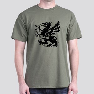 Black Gryphon Dark T-Shirt