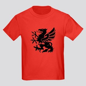 Black Gryphon Kids Dark T-Shirt