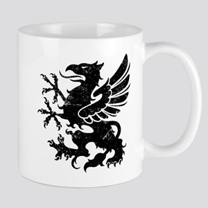 Black Gryphon Mug