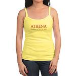 """Athena: Goddess of KICK ASS"" Jr. Spaghetti Tank"