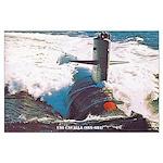 USS CAVALLA Large Poster