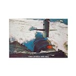 USS CAVALLA Rectangle Magnet