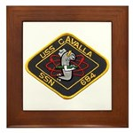 USS CAVALLA Framed Tile