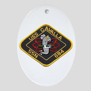 USS CAVALLA Ornament (Oval)