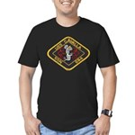 USS CAVALLA Men's Fitted T-Shirt (dark)