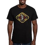 USS CAVALLA Men's Fitted T-Shirt (dark)