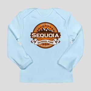 Sequoia Pumpkin Long Sleeve Infant T-Shirt