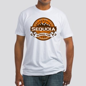 Sequoia Pumpkin Fitted T-Shirt
