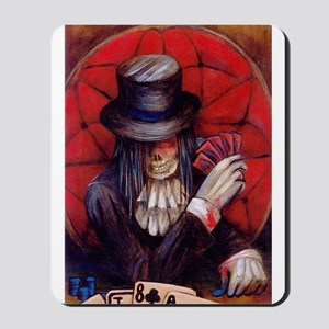 aces and eights in color Mousepad