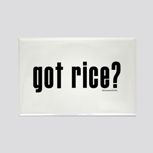 got rice? Rectangle Magnet (10 pack)