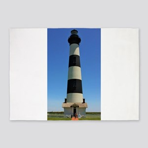 Bodie Island Lighthouse 5'x7'Area Rug